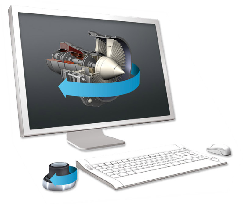 3DCONNEXION - manipulatory 3D