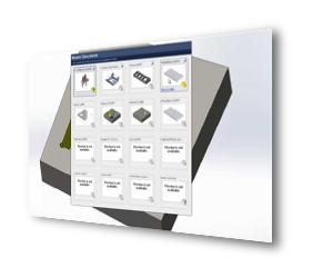 SOLIDWORKS 3D CAD Biblioteka projektów