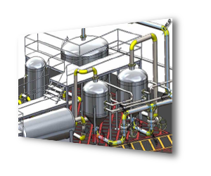 SOLIDWORKS 3D CAD Projektowanie instalacji rurowych
