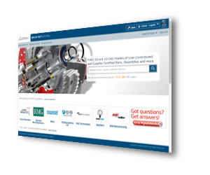 SOLIDWORKS 3D CAD Biblioteki online w 3D ContentCentral®