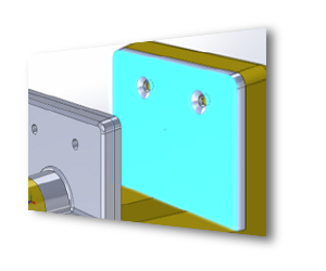 SOLIDWORKS 3D CAD Inteligentne komponenty i łączniki Smart Fasteners