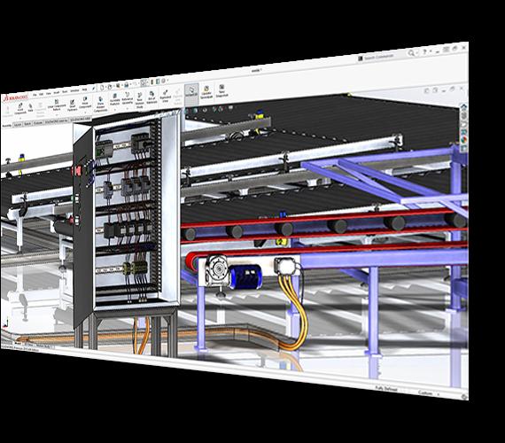 Układy elektryczne 3d